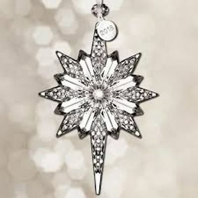 "Waterford Crystal 2018 Snowstar 5.3"" Ornament"