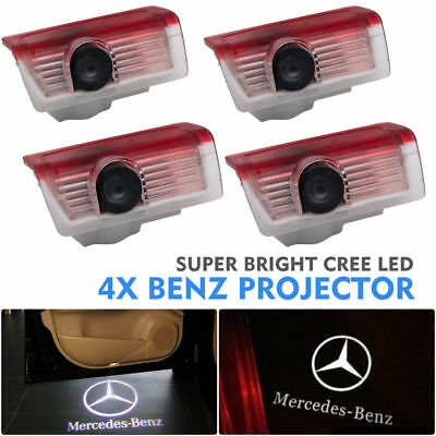 4Pcs LED Voiture Lampe Projecteur Light Courtoisie Pr Mercedes-Benz X164 GLA CGL
