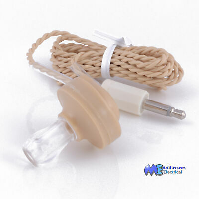 Ceramic Earphone For Crystal Radio Sets High Impedence Earpiece Condenser Type