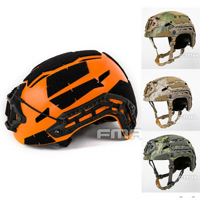 FMA Tactical Airsoft Caiman Ballistic Helmet Paintball Aor1 Aor2 A-tac FG Orange