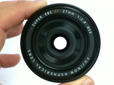 FUJIFILM SUPER EBC XF 27mm f/2.8 X-Mount Lens Black ( Retail Box )