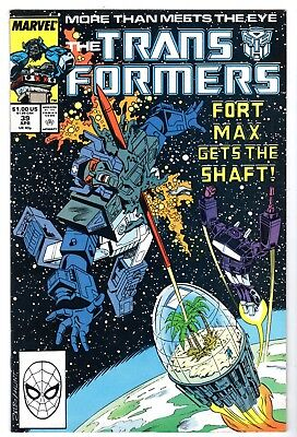Transformers #39, Near Mint Minus Condition