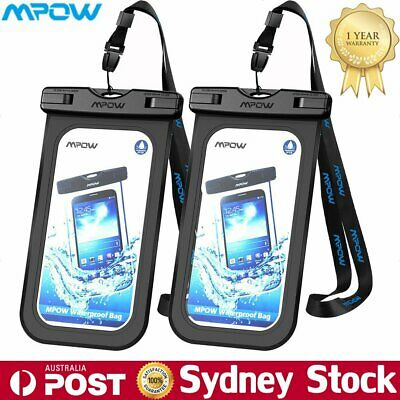 MPOW Floating Waterproof Bag Underwater Pouch Dry Case Phone Cover For iPhone AU
