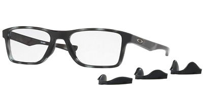 0466fce4ba Authentic OAKLEY FIN BOX 8108 - 04 Eyeglasses POLISHED GREY TORTOISE  NEW   55mm