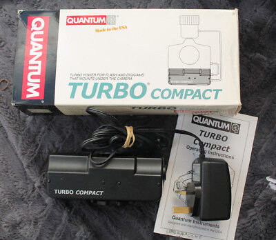 Quantum Turbo Compact - Good Used Condition