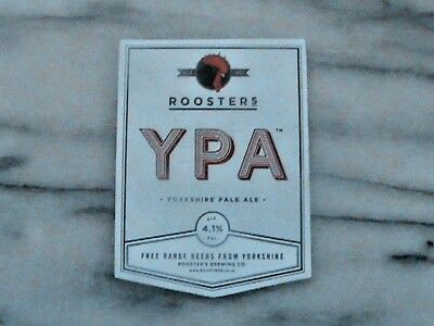 Roosters YPA Yorkshire Pale Ale real ale beer pump clip sign
