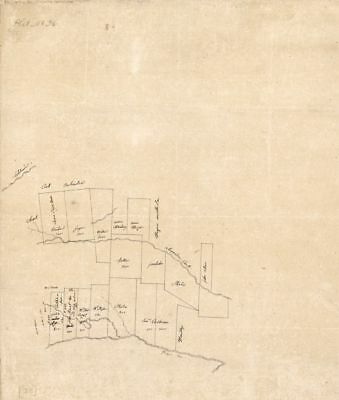 """20"""" x 24"""" 1805 Map Of Feliciana District Spanish West Florida Along Alexander"""