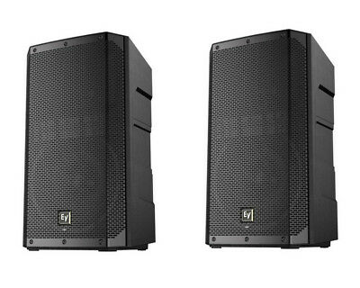 "2x EV Electro-Voice ELX200-15P 15"" 2400W Powered DJ PA Speaker"