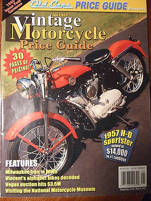 Vintage Motorcycle Price Guide Magazine , May 2005