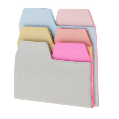 90x 6Color Bookmark Sticky Note Sticker Marker Index Pad Tab Memo Flag Label