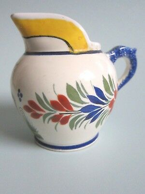 Vintage Henriot Quimper French Faience Pottery Jug