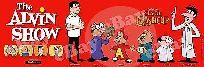 NEW!! EXTRA LARGE! ALVIN AND THE CHIPMUNKS Panoramic Photo Print ALVIN SHOW