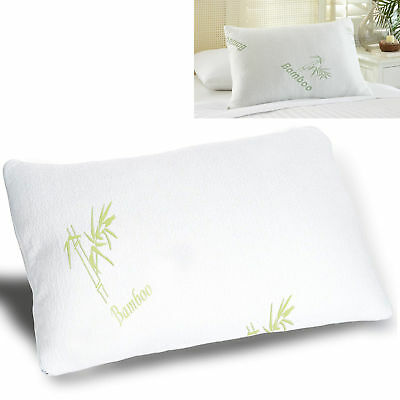 Luxury Bamboo Memory Foam Pillow Anti-Bacterial Premium Neck Support Orthopaedic