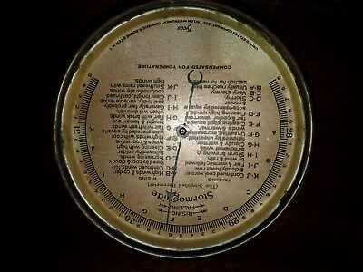 "Antique Stormoguide Barometer 5"" Dial Taylor Instrument Rochester Parts/Repair"