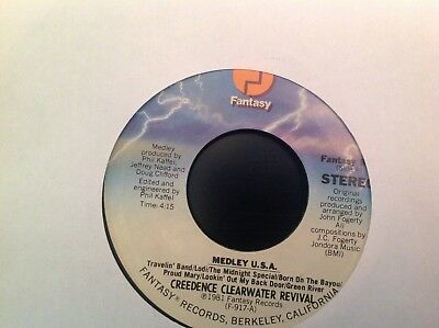 Creedence Clearwater Revival Medley USA/ Bad Moon Rising 45