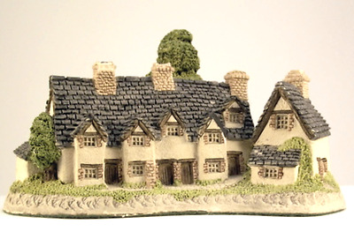 Vintage David Winter Craftsmens Cottages Miniature House Figurine 1985