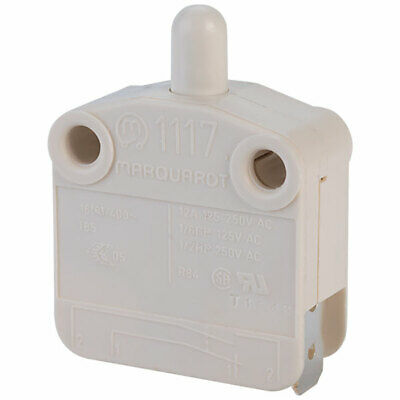 Marquardt 1117.0101 16 6A IP40 Momentary Pushbutton SPST On-Off Faston