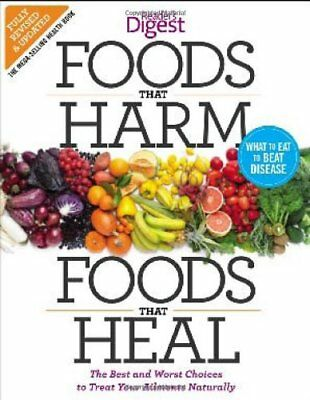 Readers Digest Foods That Harm Foods That Heal 599 Picclick Uk