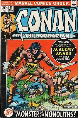 CONAN The Barbarian #21 Monster of the Monoliths Barry Smith Art 1972