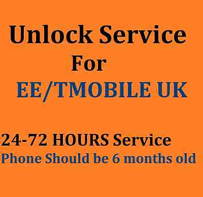 EXPRESS Unlock Code Unlocking Service For Iphone On EE ORANGE T-MOBILE UK