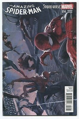 Amazing Spider-Man (2015) #14 - Gabriele Dell'Otto 1:25 Variant - Marvel Comics