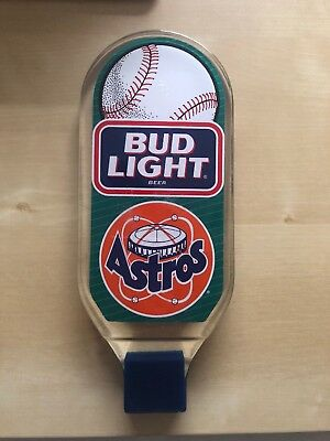 Vintage Astros / Bud Light Tap Handle