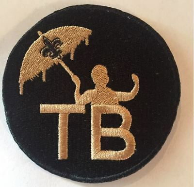 Tom Benson Memorial Patch New Orleans Saints Embroidery Super Bowl Jersey Style