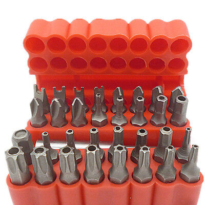 Screwdriver Set Tamper Torx Proof Security Bit Hex Star Driver Woodworking Tools