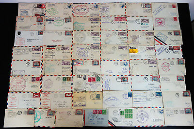 US 1920's - 1930's Air Mail Covers Lot