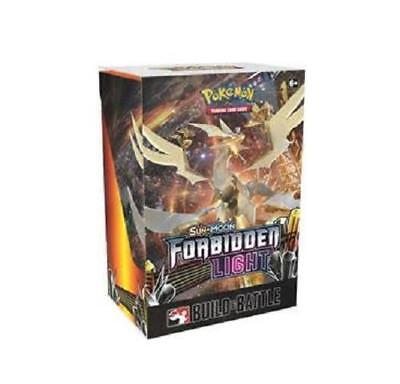 Sun & Moon FORBIDDEN LIGHT Prerelease Booster Build & Battle Kit Box Pokemon New