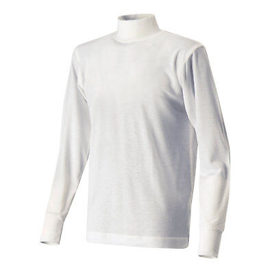 Soft Touch Long Sleeve Nomex Top White FIA 8856-2000 Approved Medium NEW