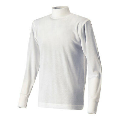 Soft Touch Long Sleeve Nomex Top White FIA 8856-2000 Approved Large NEW