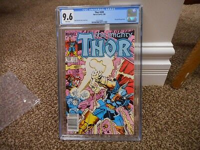 Thor 339 cgc 9.6 newsstand ups variant cover 1984 1st appearance of Stormbreaker