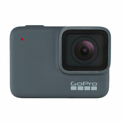 GoPro HERO7 Silver Waterproof Digital Action Camera, Touch Screen, 4k HD Video