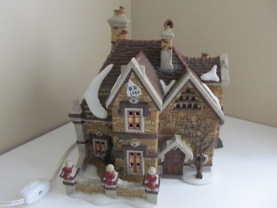 Department 56 Dept #58311 Dickens Village  Tattyeave Knoll  Stone House