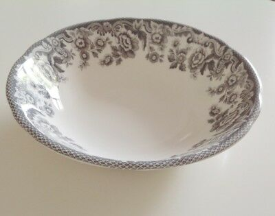 """NEW SPODE Dish Cereal Bowl Pasta Dessert 7"""" DELAMERE RURAL in GREY 10 Available"""