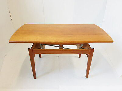 Table Transformable Into A Meals Scandinavian Folke Ohlsson Tingstroms 1960