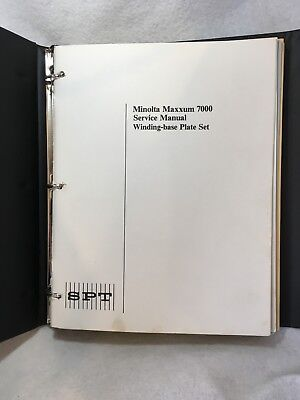 SPT Society of Photo Technologists Journal & Service Notes Guide Full 1987 Year
