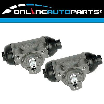 2 Rear Brake Wheel Cylinders Holden Rodeo KB TF TFS TFR 1984 to 11/1997 2x4 4x4
