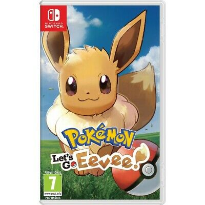 Pokemon Let's Go Eevee Switch Juego Físico Para Nintendo Switch Pokémon Lets Go