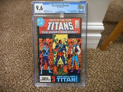 Tales of the Teen Titans 44 cgc 9.6 1st appearance of Nightwing 1st Jericho NM M