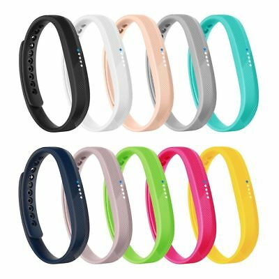 Replacement Wrist Band Silicon Strap Bracelet+Buckle For Fitbit flex2 Size S/L H