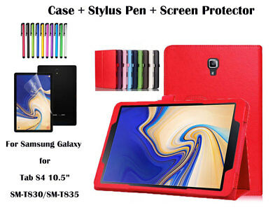 """Flip PU Leather Cover Case for Samsung Galaxy Tab S4 10.5"""" T830/T835"""