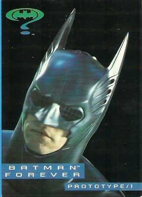 1995 Dynamic Batman Forever Promo Cards Prototype/1 AND Prototype/2