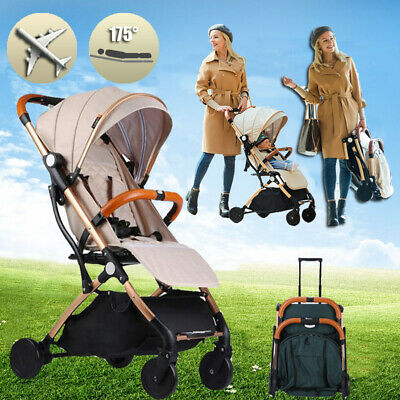 Fold Baby Stroller Portable Pram Travel Lightweight Newborn Baby Carriage