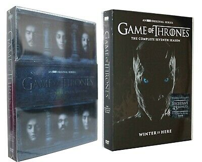 Game of Thrones The Complete Seasons 6 7 (DVD) Bundle Combo HBO TV New US Sell
