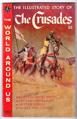 World Around Us #16 featuring Illustrated Story of The Crusades, VF Condition