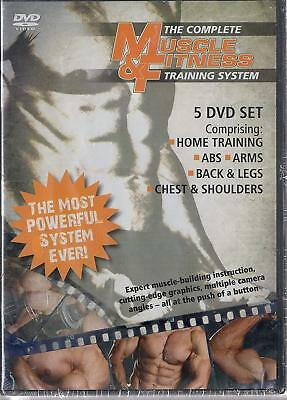 The Complete Muscle & Fitness Training System Dvd Set of 5