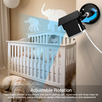 Adjustable 360 Wyze Baby Camera Wall Mount Bracket Weather Proof Protective Case