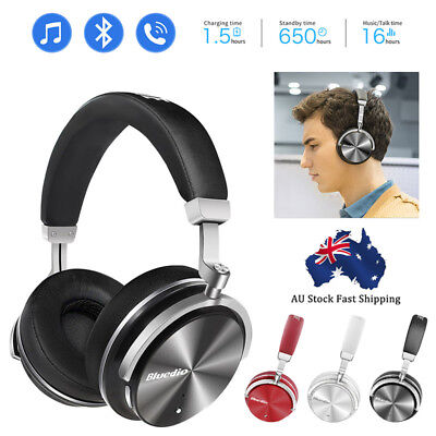 Wireless Bluedio T4S Bluetooth v4.2 Headphones Noise Cancelling Stereo Headsets